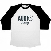 Audio Swag Logo Mens 3/4 Sleeve