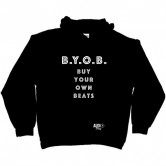 Buy Your Own Beats Mens Pullover Hoodie by Audio Swag