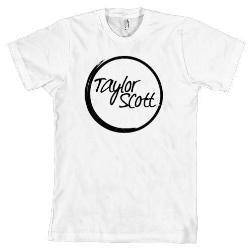 Logo Shirt White, Ash