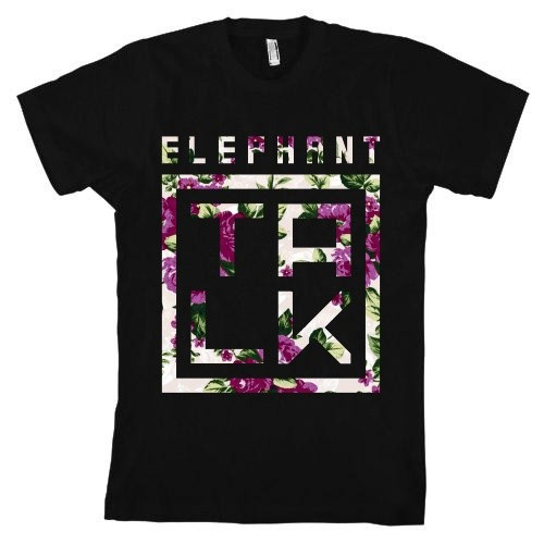 Floral Talk Box T Shirt