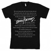 Benny Mardones Lyrics Men's T-Shirt