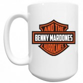 BENNY & THE HURRICANES SHIELD MUG