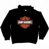 BENNY & THE HURRICANES SHIELD PULL OVER HOODIE
