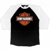 BENNY & THE HURRICANES SHIELD RAGLAN