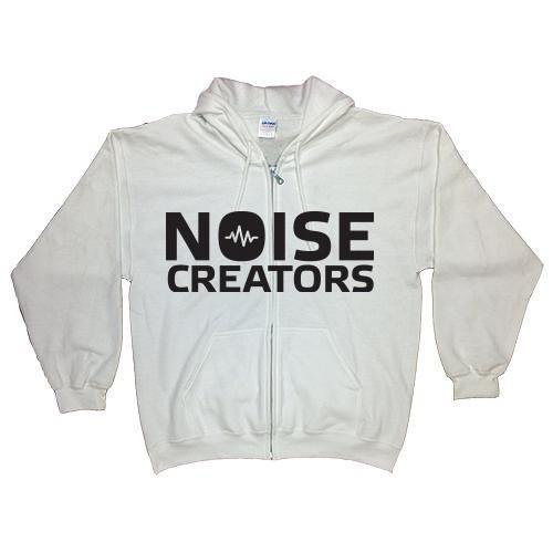 Noise Creators Full Zip Hoodie (Light Colors)