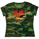 Hard Promises Ladies' Camo T-shirt
