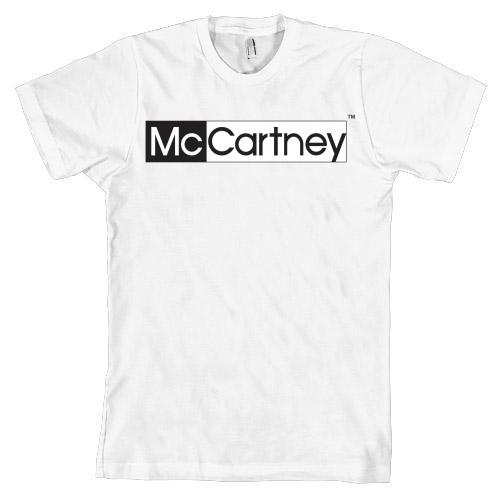 McCartney Logo Shirt (white)