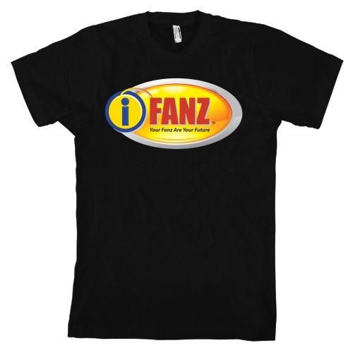 iFanz Logo Shirt (Black)