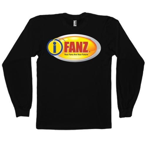 iFanz Logo Shirt (Long, Black)