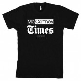 McCartney Times Logo Shirt (Men's, short, Black)