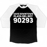 Save Playa del Rey Raglan