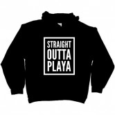 STRAIGHT OUTTA PLAYA DARK HOODIE