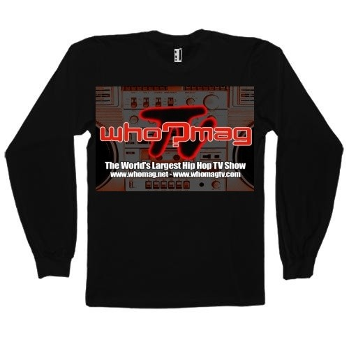 WHO?MAG TV Long Sleeve Shirt (Front & Back)