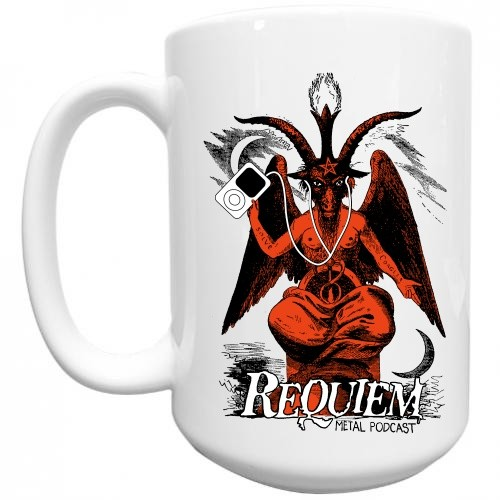 Requiem Metal Podcast Mug