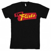 The Flirts Red Logo Men's Black Tee
