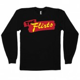 The Flirts Red Logo Long Sleeve Black
