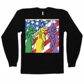 The Flirts Cover Long Sleeve Black