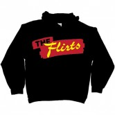 The Flirts Red Logo Hoodie Black