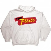 The Flirts Red Logo Hoodie White