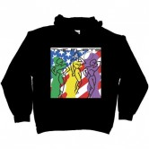 The Flirts Cover Hoodie Black