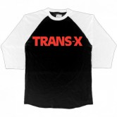 Trans-X Red Logo Men's 3/4 Raglan