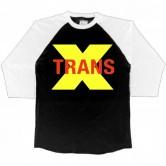 Trans-X Yellow X 3/4 Raglan