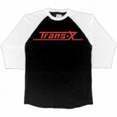 Trans-X Retro Logo 3/4 Raglan