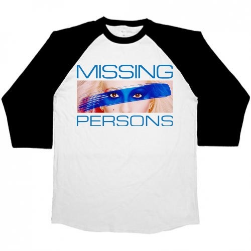 Missing Persons Men's 3/4 White