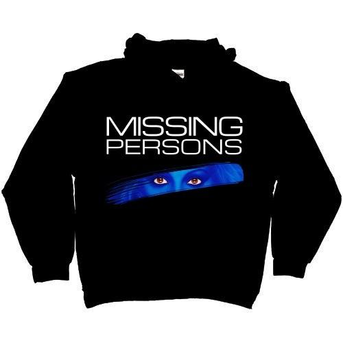 Missing Persons Hoodie Black