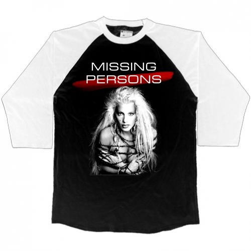 Missing Persons Men's 3/4 2