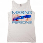 Missing Persons Men's Tank White