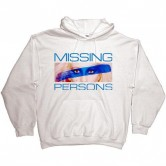 Missing Persons Hoodie White
