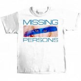 Missing Persons Youth Tee White