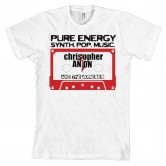 Christopher Anton Casette Men's Tee White