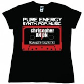 Christopher Anton Casette Women's Tee Black