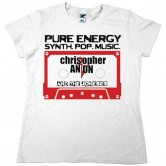 Christopher Anton Casette Women's Tee White