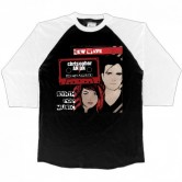 New Wave Raglan 3/4 Shirt