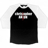 Christopher Anton Logo Ragland 3/4 Shirt