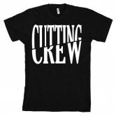 Cutting Crew Logo Men's Tee Black