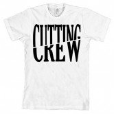Cutting Crew Logo Men's Tee White