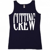 Cutting Crew Logo Men's Tank Black