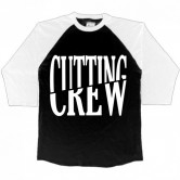 Cutting Crew Logo Men's 3/4 Black