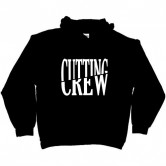 Cutting Crew Logo Men's Hoodie Black