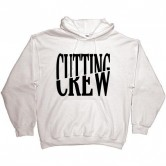 Cutting Crew Logo Men's Hoodie White