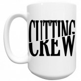 Cutting Crew Logo Mug