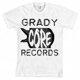 GradyCoreRecords OldSkool Front (white shirt)